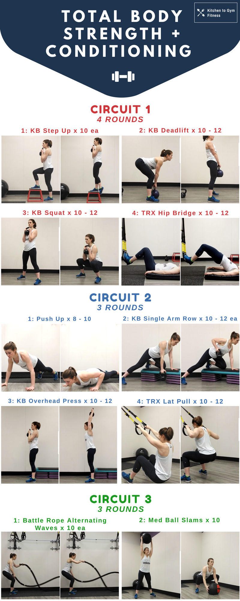 Total Body Studio Workout Kitchen To Gym Fitness Workouts And Tagged Circuit Full Remember Warm Up Before You Exercise Cool Down After If Any Causes Pain Discontinue The